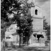 Здание храма во имя святителя Николая Чудотворца. Уничтожено пожаром в 1956 году